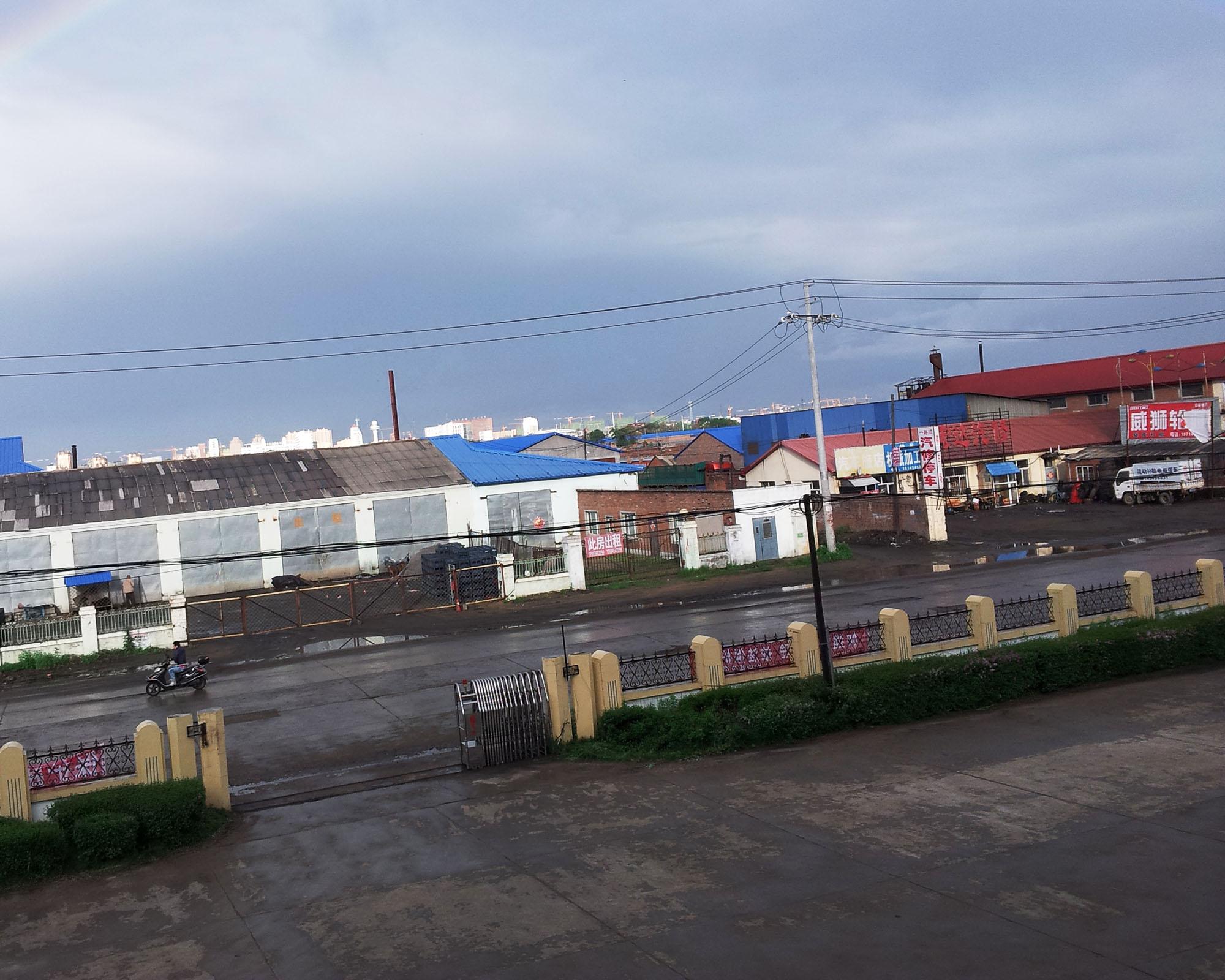 啤洒厂工地